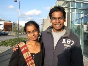 Anindita Nayak et Abhishek Nayak, Inde