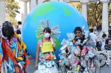Corteo di Greenpeace Messico