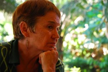 """Nadine Bari in un'immagine tratta dal documentario """"Hier encore je t'espérais toujours"""" di Catherine Veaux-Logeat"""