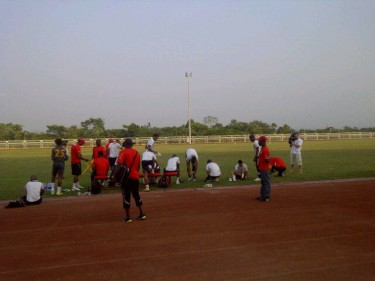 The Equatorial Guinea team in training by @FlorianK_Sport