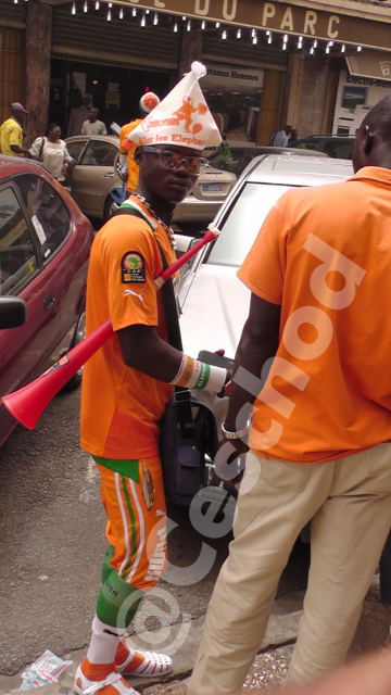 Fans of Ivory Coast by @Ceschod