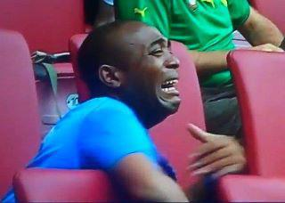 Equatorial Guinea fan in tears by @Noella_ELLOH