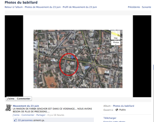 géolocalisation sur facebook