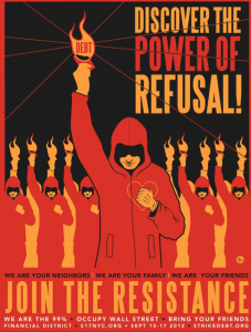 Poster de Strike the Debt - Domínio público