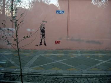 graffiti a Tehran