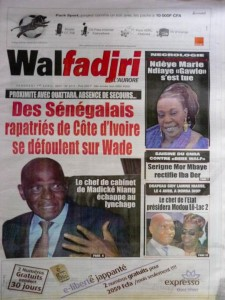 wade Senegal Costa de Marfil