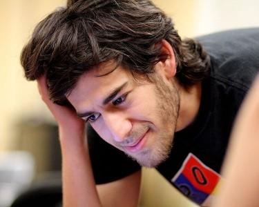 Aaron Swartz en una reunión Wiki  en Boston, por Sage Ross