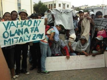 étudiants en grève à Madagascar par jentilisa avec autorisation