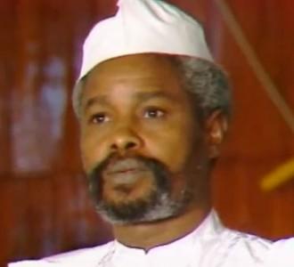 Hissen Habré - capture d'écran d'une vidéo d'euronews sur youtube