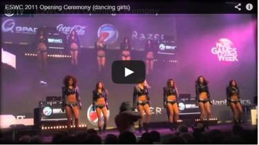 Vidéo de la cérémonie d'ouverture de ESWC 2011 à Paris