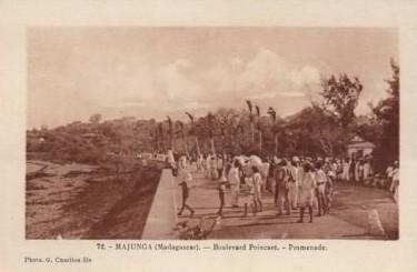 Mahajanga , le bord de mer