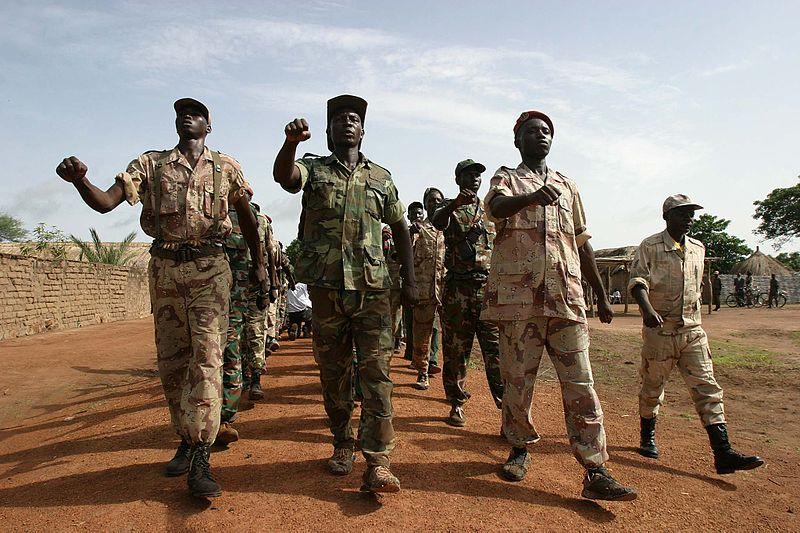 Rebelles en République centrafricaine via wikipedia CC-BY-2.0
