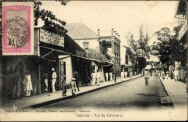Toamasina, rue du commerce
