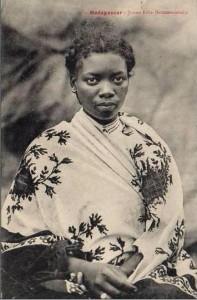 jeune fille Betsimisaraka