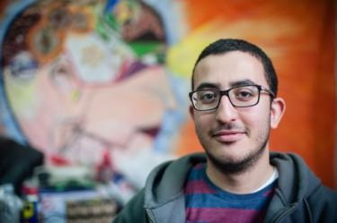 محمود الصفتي (الصورة لأوفيليا نور منشورة بإذنٍ منها)