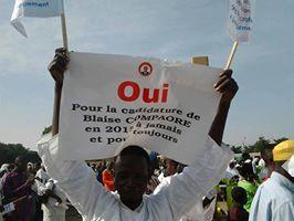 Photo prise le 6 juillet lors de la manifestation de soutien au régime via @babyam avec sa permission