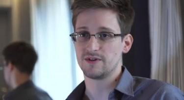 Edward Snowden. Capture d'écran de la vidéo de son entretien via