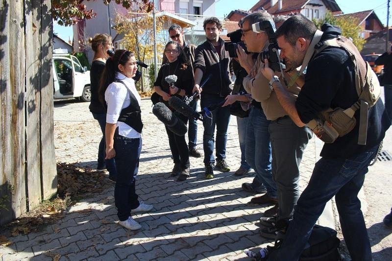 Leonarda journalists