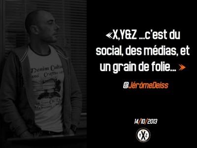 Image de la campagne de promotion publiée sur la page facebook X YetZ