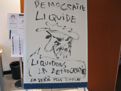 Liquid democracy - Lab 1. Photo by Suzanne Lehn.