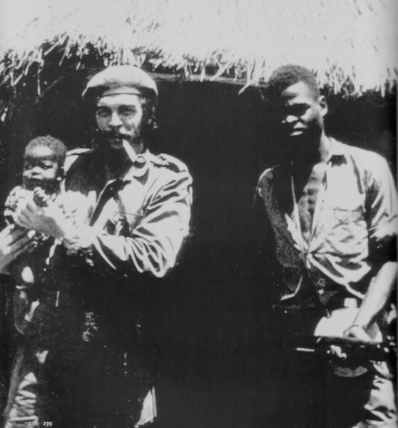 Ο Che Guevara και ο Laurent-Désiré Kabila - Public domain
