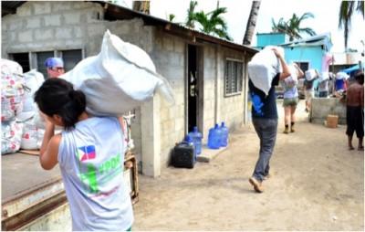Distribution des aides par YPDR - avec la permission de l'auteur