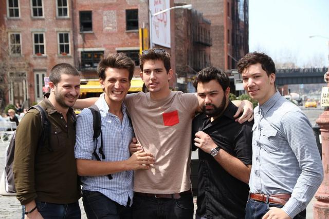 Les 5 membres de l'InterFaith Tour avec leur permission