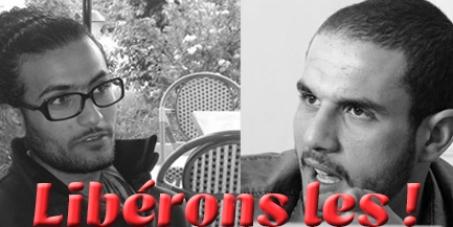 Campagne pour la libération de Mohand et Moez - Domaine public