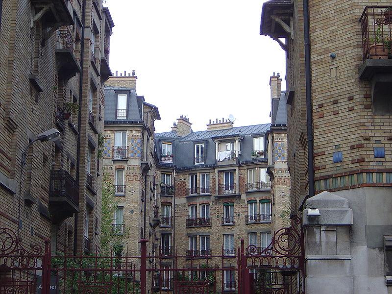 HBM de l'Office de la Ville de Paris, dans le 13e arrondissement de Paris - via David Monniaux - CC BY-SA 3.0