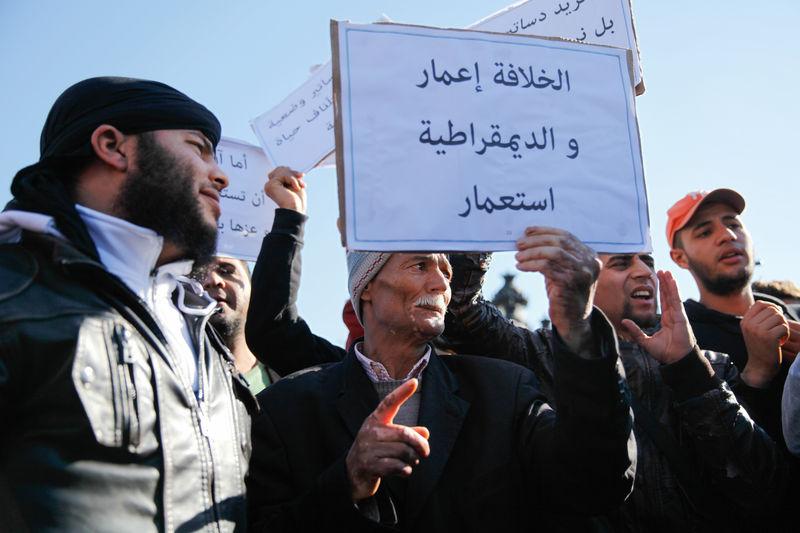Tunisie Ansar al Charia califat