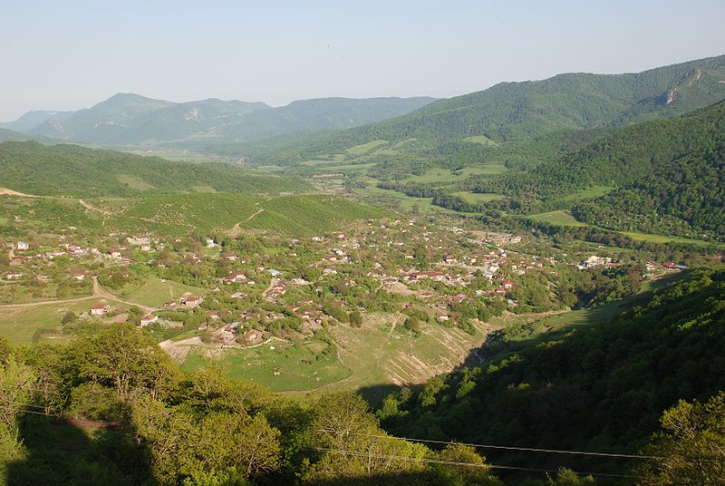 Paysage du Haut-Karabagh par Bouarf CC-BY-2.0