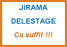 Poster de la page Jirama Delestage sur Facebook - avec permission