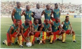 L'equipe nationale du Cameroun - Domaine public