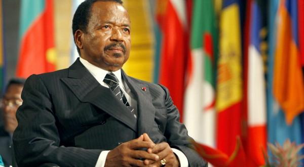 Paul Biya - Domaine public