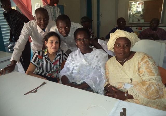 Συμμετέχοντες στο εργαστήριο Vivre Ensemble (Ζώντας Μαζί) στο Τιμπουκτού, Μαλί - φωτογραφία συντάκτη.