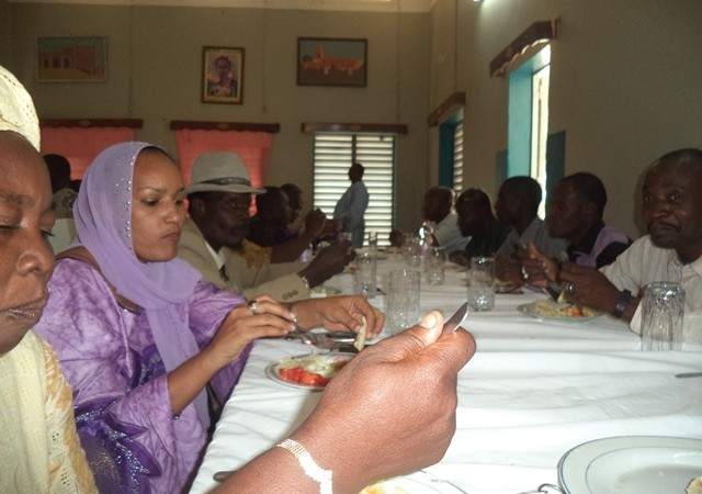 Participants del taller Viure Junts a tombuctú – Imatge de l'autora