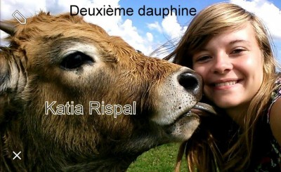 katia, deuxième dauphine de Miss France Agricole