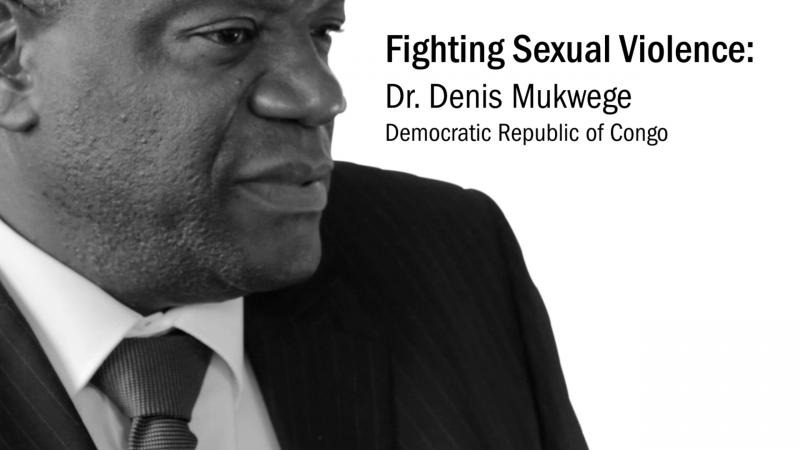 Dr Mukwege contre les violences envers les femmes - Domaine public