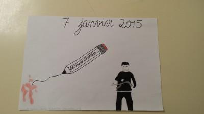 7 janv 2015 dessin lycée Strasbg
