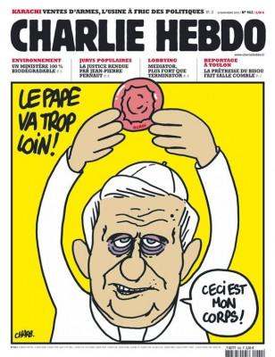 charlie hebdo et le catholicisme