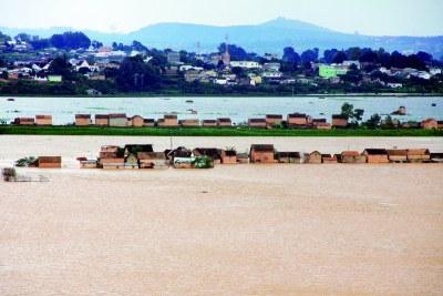 Le Sud de la capitale dévasté par les eaux via page facebook L'Express