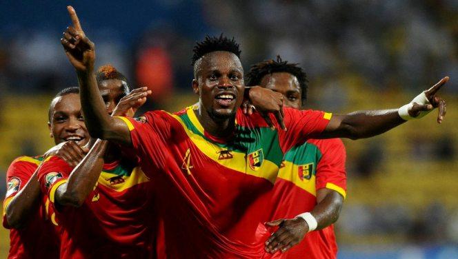 Equipe nationale de Guinée qualifiée pour les 1/4 de finale de la CAN 2015