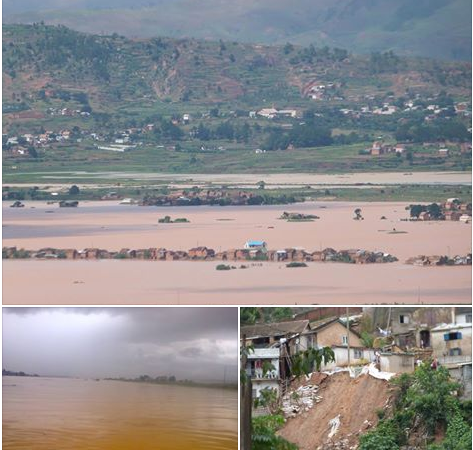 Pictures of floods in the Antananarivo region via twitter user @saveoursmile  with permission