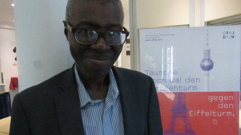 Professeur Souleymane Bachir Diagne- photo de l'auteur avec sa permission