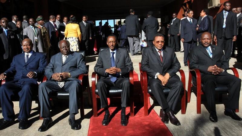Chefs d' états de l'Afrique de l'Est. par Magnus Manske CC-BY-2.0