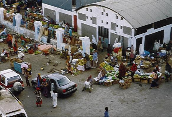 Marché, centre de Djibouti - Photo de Baronnet CC BY 20