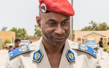 Gilbert Diendéré,  général de l'armée du Burkina Faso via wikimedia commons CC-BY-20