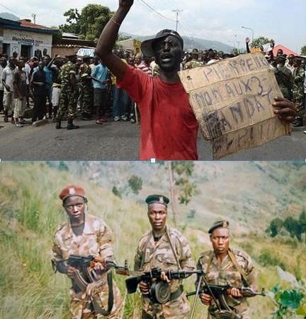 Compilation des images de la crise au Burundi en 2015