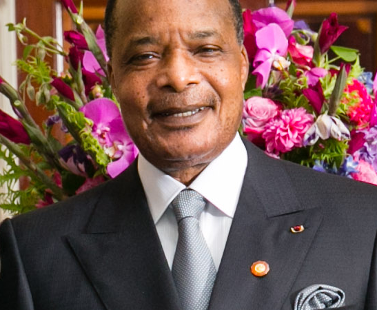 Dennis Sassou Nguesso via wikipedia CC-BY-20