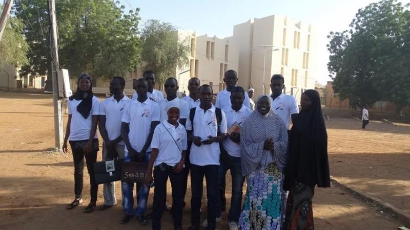 L'équipe de Open Street Map Niger